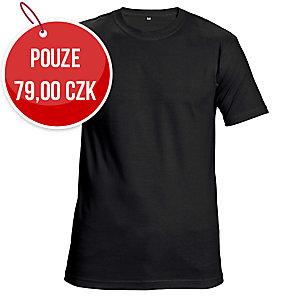 Tričko s krátkym rukávem ČERVA GARAI, velikost XL, černé