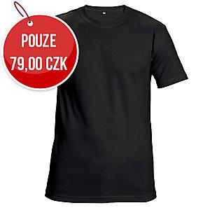 Tričko s krátkym rukávem ČERVA GARAI, velikost 2XL, černé