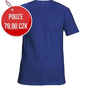 Tričko s krátkym rukávem ČERVA GARAI, velikost M, královská modrá