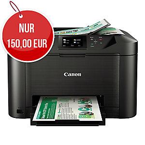 Canon Tintenstrahl-Multifunktionsgerät farbig 4 in 1, MAXIFY MB5150