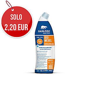 Detergente disincrostante Blu WC Gel Sanitec 750 ml