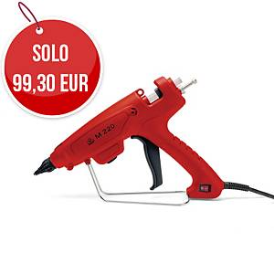 Incollatrice elettrica professionale m 220 per colle standard ø12 mm