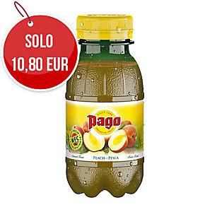 Succo di frutta pesca Pago bottiglietta 20 cl - conf. 12
