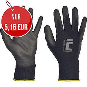 Handschuhe für Präzisionsarbeiten PU, Größe L, 12 Paar