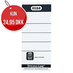 ETIKET TIL ELBA BREVORDNER A4 8CM PAKKE A 10 STK