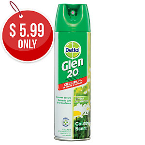 GLEN 20 SURFACE SPRAY DISINFECTANT 175G - EACH