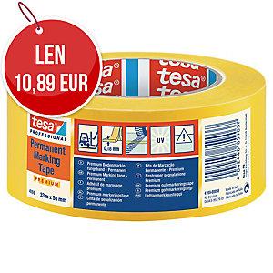Označovacia lepiaca páska tesaflex® 04169, 50 mm x 33 m, žltá