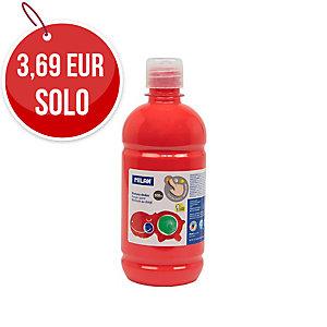 Botella Pintura De Dedos MILAN 500ml Rojo