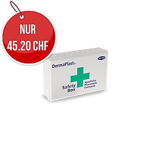DermaPlast Safety-Box Apotheke, ABS-Kunststoff, 21x14x5,5 cm, 27-teilig gefüllt
