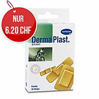 DermaPlast Sport Family Wundschnellverband, assortiert 3 Grössen, Pk. à 32 Stk.