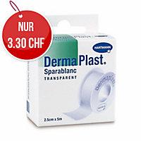 DermaPlast Sparablanc, 5mx2,5 cm, transparent