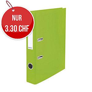 Bundesordner Biella 0103414, 4 cm, hellgrün