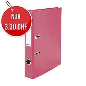 Bundesordner Biella 0103414, 4 cm, rosa