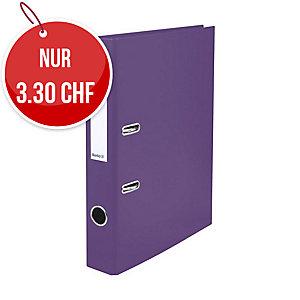 Bundesordner Biella 0103414, 4 cm, violett