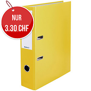 Bundesordner Biella 0103417, 7 cm, gelb