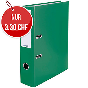 Bundesordner Biella 0103417, 7 cm, grün