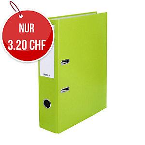 Bundesordner Biella 0103417, 7 cm, hellgrün
