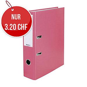 Bundesordner Biella 0103417, 7 cm, rosa