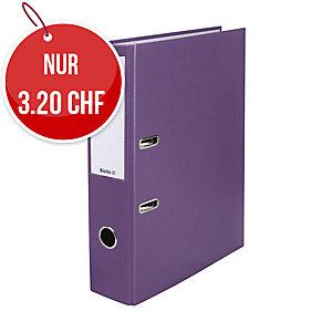 Bundesordner Biella 0103417, 7 cm, violett