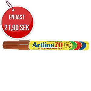 Permanent märkpenna Artline 70, 1,5 mm, brun