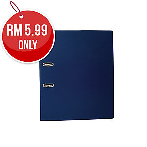 EMI  DARK BLUE A4 LEVER ARCH FILE  875 3 INCHES