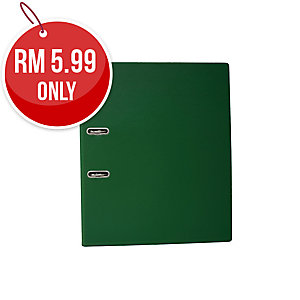 EMI GREEN A4 LEVER ARCH FILE  875 3 INCHES