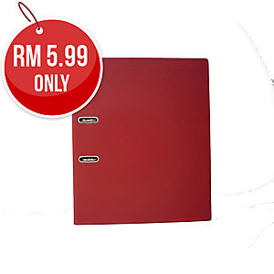 EMI RED A4 LEVER ARCH FILE  875 3 INCHES