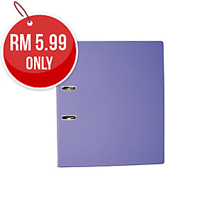 EMI PURPLE A4 LEVER ARCH FILE  875 3 INCHES