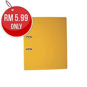 EMI YELLOW A4 LEVER ARCH FILE  875 3 INCHES