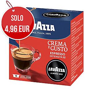 CAFFÈ IN CAPSULE LAVAZZA A MODO MIO CREMA E GUSTO CONF.16