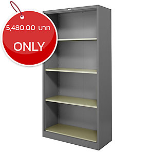 ZINGULAR ZOS-1886 STEEL FILING SHELF GREY