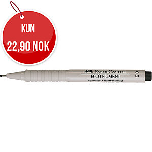 FABER-CASTELL FINELINER 0,5MM SORT