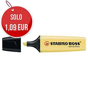 Evidenziatore Stabilo Boss Pastel giallo Pastello