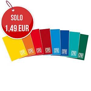 Maxi quaderno Blasetti One color a quadretti A4 - 20 fogli