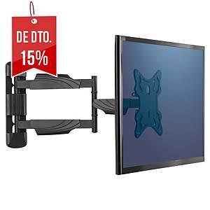 Braço de parede para monitor e tv Fellowes - máximo 55  - peso máximo 35 kg