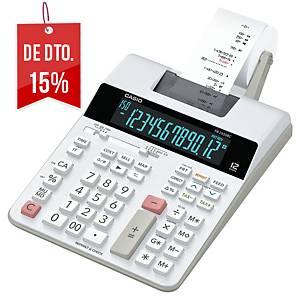 Calculadora com impressora Casio FR-2650RC - 12 dígitos - branco