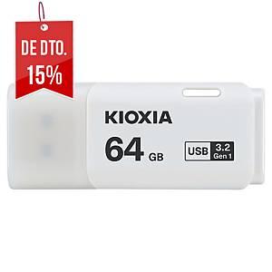 Memória USB Toshiba Transmemory - USB 3.0 - 64GB - branco