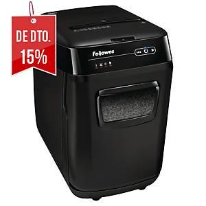 Destruidora de papel Fellowes AutoMax™ 200M - microcorte DIN P-5