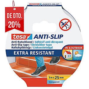FITA ANTI-DERRAPANTE TESA 25MMX5MM TRANSPARENTE