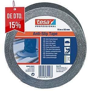 Fita antiderrapante Tesa 60950 - 15 m x 50 mm - preto