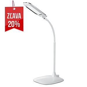 Stolová LED lampa Aluminor MIKA, biela