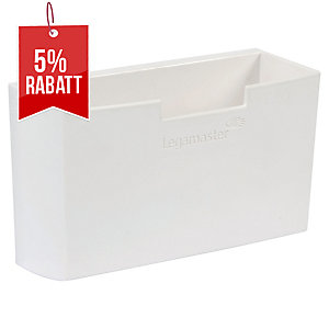 Zubehörköcher Legamaster 122600 für Weißwandtafeln, magnethaftend weiß