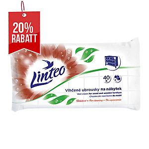 Linteo Feuchttücher für Möbel, Packung mit 40 Stück
