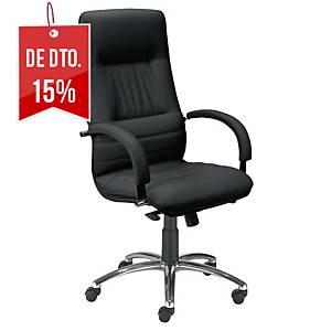 Cadeira com mecanismo basculante Optimum - preto