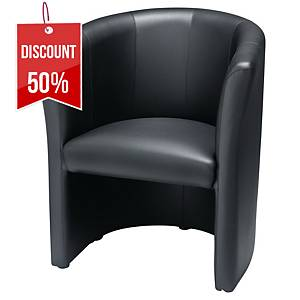 NOWY STYL CLUB RECEPTION CHAIR BLACK