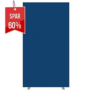 Skjermvegg Paperflow Easyscreen gulv, 94 cm, blå