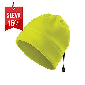 Fleecová čepice Adler HV Practic, fluorescenční žlutá