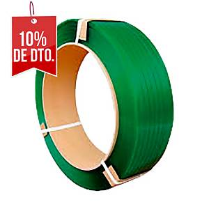 Fleje - 16 mm x 1750 m - poliéster PET - verde