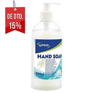 Sabonete para as mãos líquido Lyreco com doseador - 500 ml