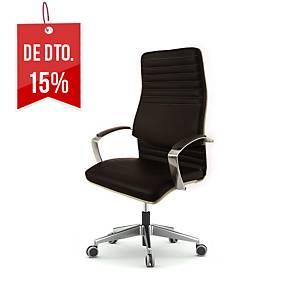 Cadeira com mecanismo de contacto permanente BD8000 - preto